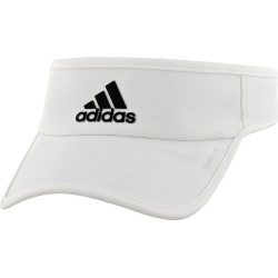 adidas SuperLite Visor Men's Hats & Headwear White/Black found on Bargain Bro India from Holabird Sports for $16.50