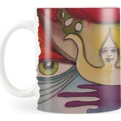 Classic Mug - Mystic 2 in Brown/Green/Red by VIDA Original Artist found on Bargain Bro Philippines from SHOPVIDA for $20.00