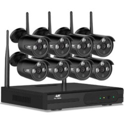 720P 8CH 8 Wireless Security Camera NVR Video found on Bargain Bro from Simply Wholesale for USD $323.18