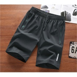 Costbuys  Outdoor Men Women Running Shorts Walking Loose Shorts Gym Training Cool Sport Shorts Fitness Hiking Soccer Basketball