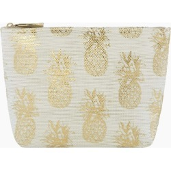 Shiraleah Valentina Zip Pouch in Natural in Beige found on Bargain Bro India from CoEdition for $11.00