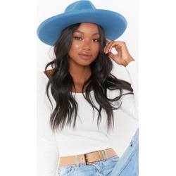 Becker Wide Brim Hat ~ Powder Blue found on Bargain Bro from showmeyourmumu.com for USD $60.04