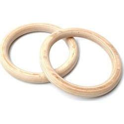 32mm Wooden Olympic Gymnastic Rings
