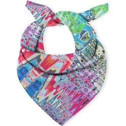 Multi-Use Cotton Scarf - Splashes Pattern by VIDA Original Artist found on MODAPINS from SHOPVIDA for USD $55.00