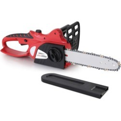 Giantz 20V Cordless Chainsaw Black and Red