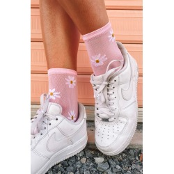 Eclat Shiloh Socks Pink Daisy - ONE SIZE found on Bargain Bro India from beginning boutique for $9.31