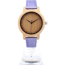 Wooden Watch Lady Quartz Wristwatch