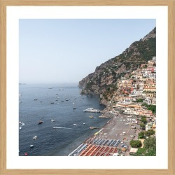 Amalfi Coast Photographic Print With Frame
