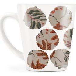Statement Mug - Autumn Season I in Brown/Pink/Red by Always Seek Original Artist found on Bargain Bro India from SHOPVIDA for $20.00