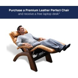 Human Touch Omni-Motion Perfect Chair SofHyde / Black / Dark Walnut found on Bargain Bro India from Relax The Back for $2999.00