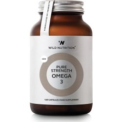 Wild Nutrition Pure Strength Omega 3 - 120 Capsules found on Makeup Collection from Oxygen Boutique for GBP 33.27