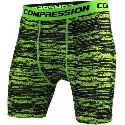 Costbuys  Men shorts Bodybuilding Fitness Gasp Gyms Aesthetics basketball Running workout jogger shorts - green / M