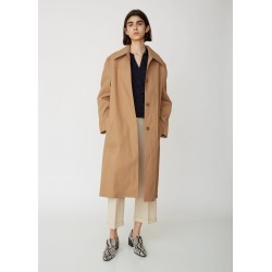 Acne Studios Onna Bonded Mac Coat Camel Brown Size: FR 38 found on MODAPINS from la garconne for USD $950.00