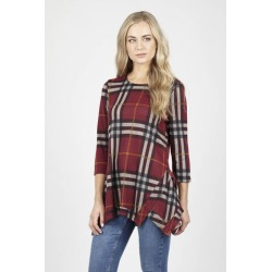 Checked Swing Top found on Bargain Bro UK from Izabel London UK