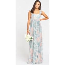 June Maxi Dress ~ Sage I Do Floral