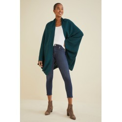 Caterina Cardigan Top For Women - Spruce