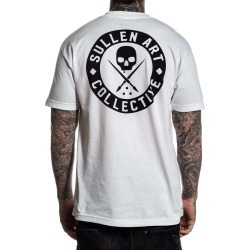 The Classic White Tee, WHITE / L found on Bargain Bro from Sullen Clothing for USD $18.99