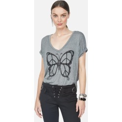 Brixton Peace Butterfly - L Heather Grey found on MODAPINS from lauren moshi for USD $97.00
