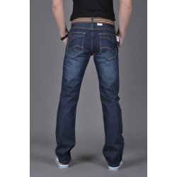 Costbuys  Bikers Jeans Blue Color Mens Fashion Jeans Designer Jeans Men Retail Available - Blue / 30