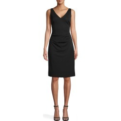 Nicole Miller Stretchy Matte Jersey Dress In Black | Polyester/Spandex/Acetate | Size 4 found on MODAPINS from Nicole Miller for USD $295.00