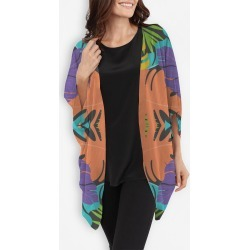 Cocoon Wrap - Exotic Flowers by VIDA Original Artist found on Bargain Bro India from SHOPVIDA for $110.00