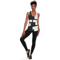 Printed Racerback Top - Fashionista  Top by Tricia Rissman Original Artist found on Bargain Bro India from SHOPVIDA for $45.00