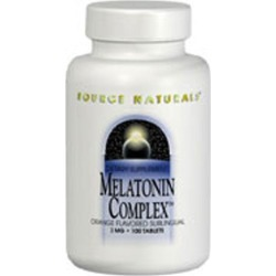 Melatonin Complex Peppermint 100 Tabs by Source Naturals found on Bargain Bro India from Herbspro - Dynamic for $23.50