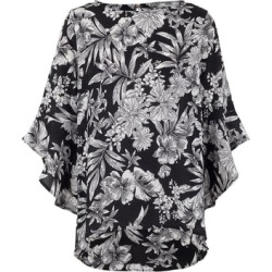 Floral Batwing Sleeve Top found on Bargain Bro UK from Izabel London UK