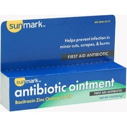 Sunmark First-Aid Antibiotic Ointment 1 oz by Sunmark