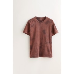 Alex Mill Limited Run: Natural Dye Tee in Botanical Faded Plum - Botanical Faded Plum SM found on MODAPINS from Alex Mill for USD $95.00