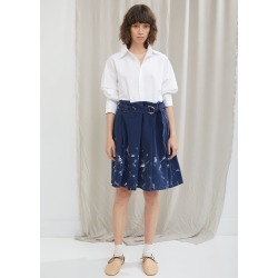 Acne Studios Paint Denim Skirt Denim Blue Size: Fr 36 found on MODAPINS from la garconne for USD $360.00