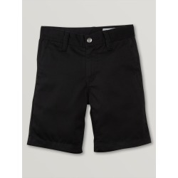 Volcom Little Boys Frickin Chino Shorts - Black - Black - 2T found on Bargain Bro India from volcom.com for $30.00