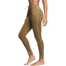 Free People Women's Movement Spin Leggings - Army Small Spandex