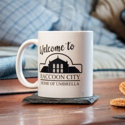 Official Resident Evil 'Welcome to Raccoon City' 11oz Mug found on Bargain Bro UK from yellow bulldog