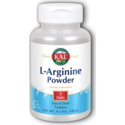 L-Arginine Powder 4.2 oz by Kal found on MODAPINS from Herbspro for USD $23.69
