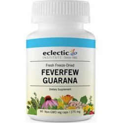 Feverfew Guarana 90 Caps by Eclectic Institute Inc found on Bargain Bro India from Herbspro - Dynamic for $26.40