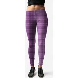 Leggings - Face.c.a in Blue/Pink/Purple by VIDA Original Artist found on Bargain Bro Philippines from SHOPVIDA for $75.00