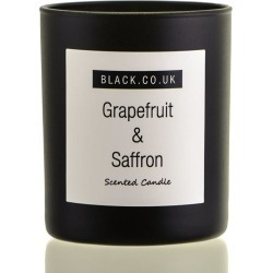 Grapefruit and Saffron Scented Candle - Black Glass found on Bargain Bro UK from black.co.uk