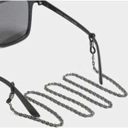 Le Specs - Sunglasses Neck Chain in Gunmetal Grey found on MODAPINS from glue store for USD $10.68