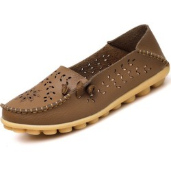 Costbuys  Woman Summer lace up Casual Shoes Women Flat Heel - Khaki / 7 found on Bargain Bro Philippines from cost buys for $85.99