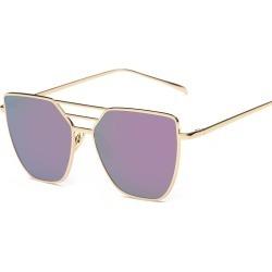 Costbuys  Round Metal Sunglass Women sunglasses Vintage  Designer Metal Sun Glasses outdoor Men Oculos De Sol - oval sunglasses
