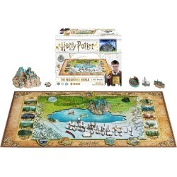 Official Harry Potter The Wizarding World Puzzle (892 Pieces) found on Bargain Bro UK from yellow bulldog