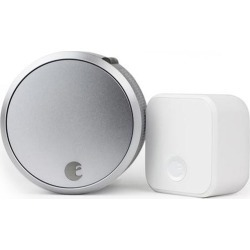 August AUG-SL03-C02-S03 Smart Lock Pro + Connect, Silver found on Bargain Bro India from Smart Home for $279.99