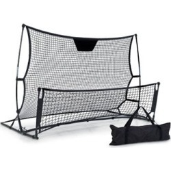 Portable Soccer Rebounder Net Volley Football Goal Pass Trainer