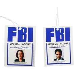 The X-Files Agent Scully & and Mulder Air Freshener found on Bargain Bro Philippines from Toynk Toys for $9.99
