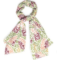 Cashmere Silk Scarf - Mosaic 0089 in Brown/Pink by Always Seek Original Artist found on Bargain Bro India from SHOPVIDA for $85.00