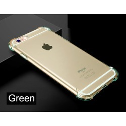 Costbuys  Anti Knock Shock proof Silicon Case for iPhone 8 8 Plus iPhone 8Plus iPhone X 10 Clear gel Cell Phone 360 Colors Cover