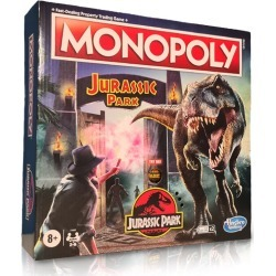 Official Jurassic Park Monopoly found on Bargain Bro UK from yellow bulldog