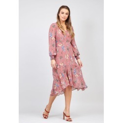 Ditsy Floral & Frill Dress