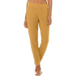 Alo Yoga Unwind Sweatpant - Caramel - Size L - Performance Fabric